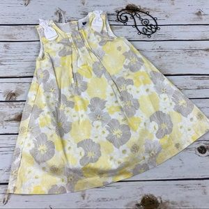Janie & Jack 18-24 Months Dress Floral Sleeveless